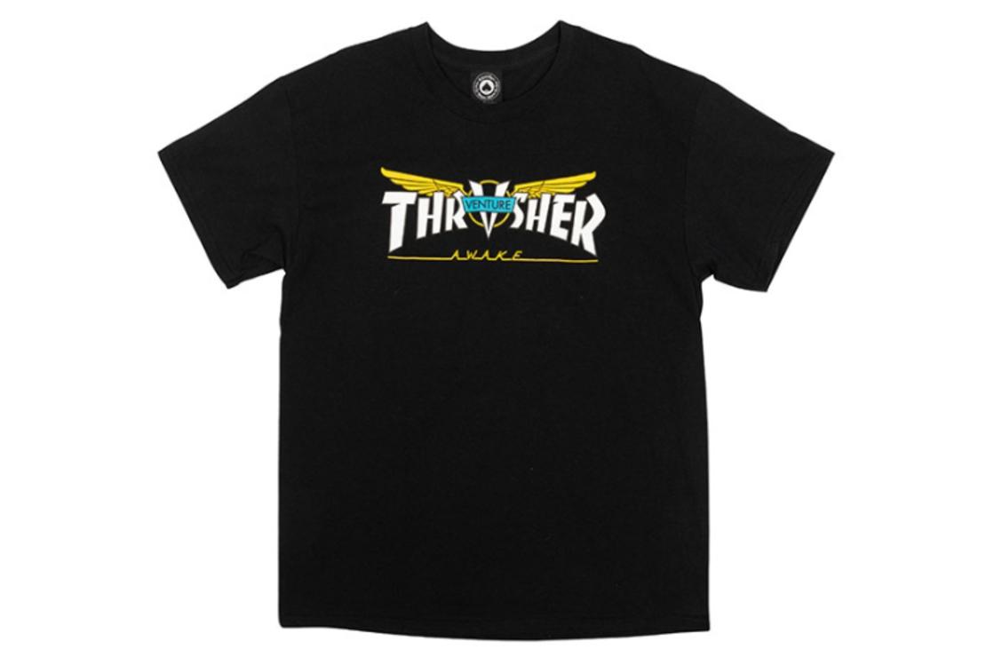 Thrasher - טי שירט Venture Collab