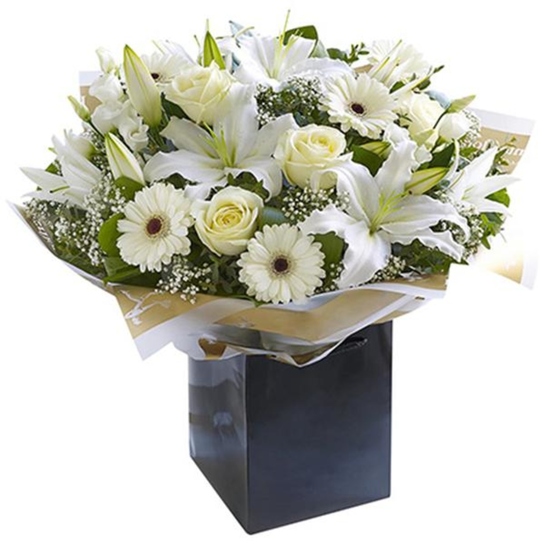 זר פרחים מונט בלאן
