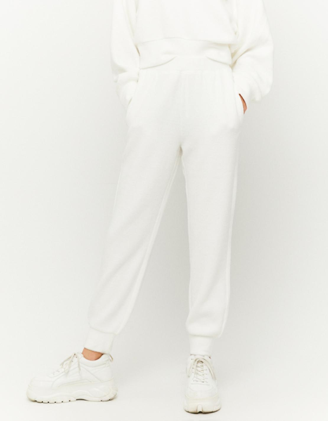 SPAPEJODA-AQ WHI006 מכנס ג'וגינג צמר