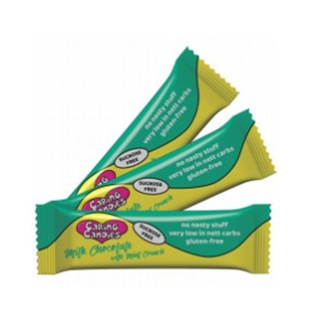 Sugar Free 30% Milk Chocolate with Mint Crunch 50g