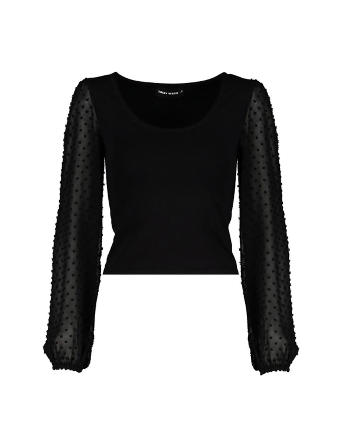 STSCOPESTA-HH חולצה שרוול שיפון נפוח