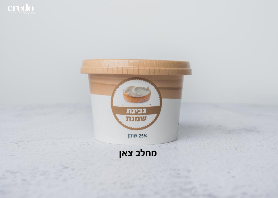 גבינת שמנת טבעית מחלב צאן