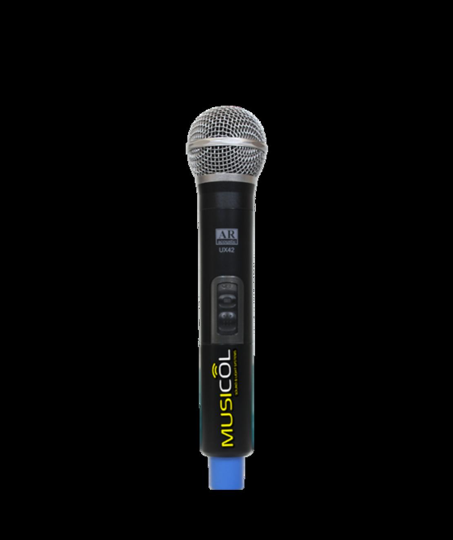 מיקרופון אלחוטי ידני AR-ACOUSTIC UX40