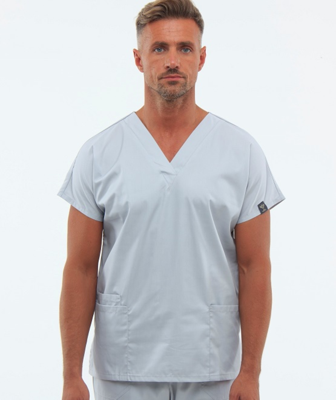 חליפת ניתוחים צבע אספלט 0181