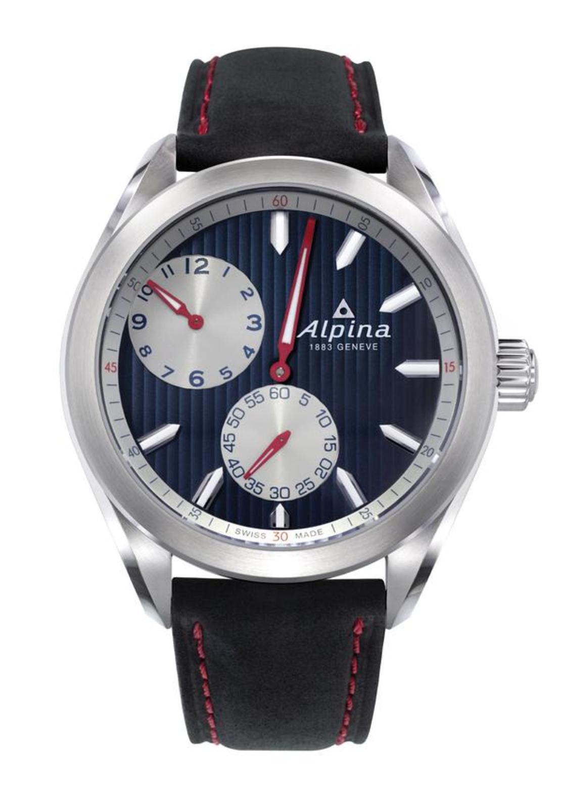 שעון Alpina Alpiner Regulator Automatic Dark Blue Black