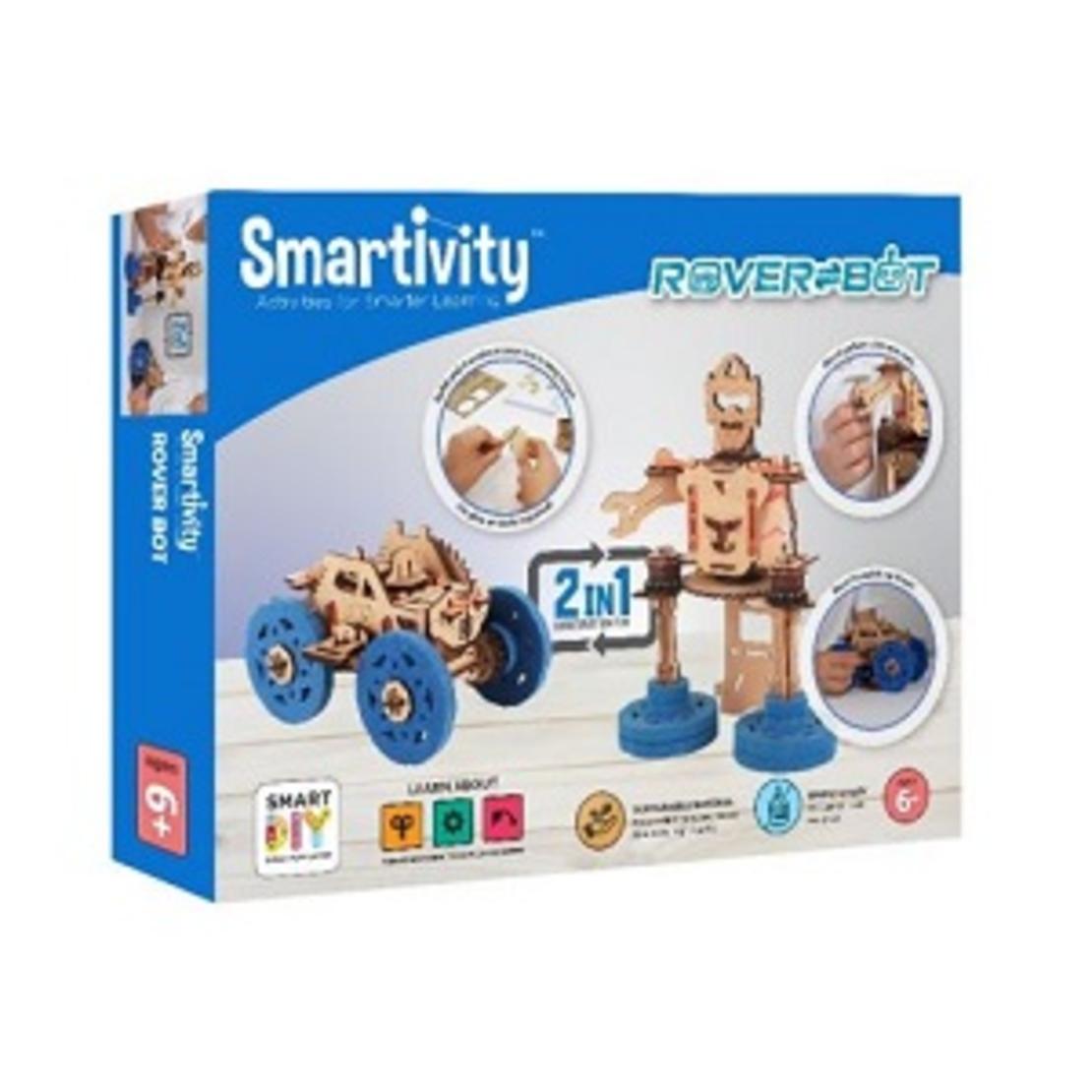 SMRT1112 Smartivity  - רובר בוט 2 רובוטים בערכה אחת