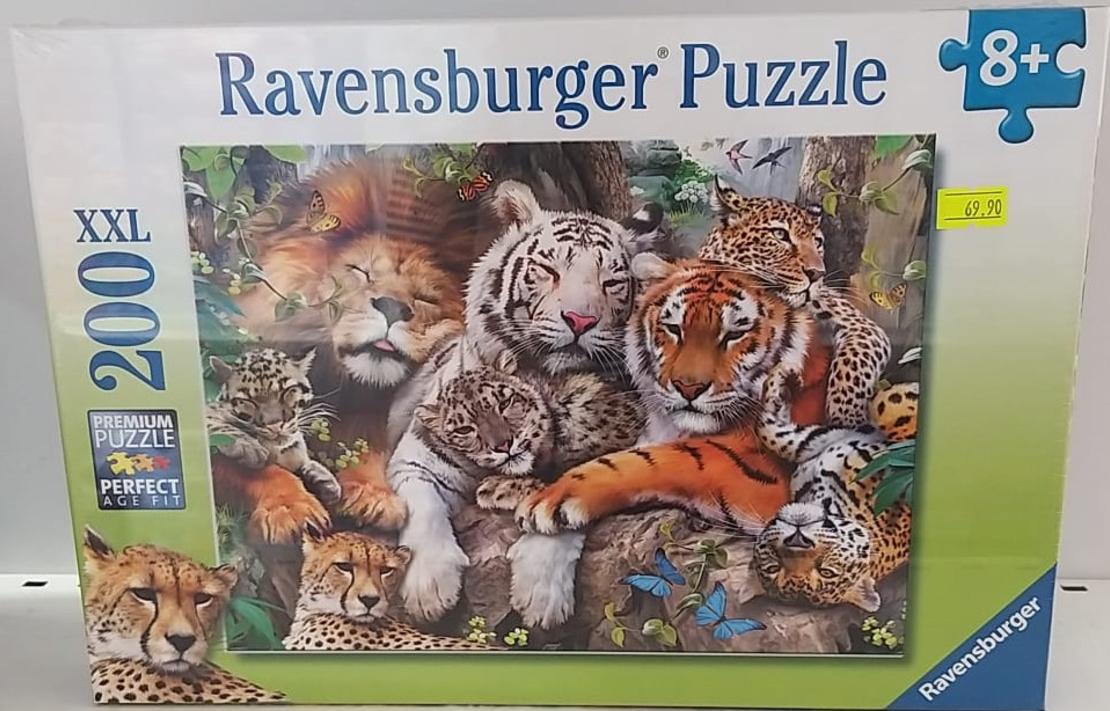 פאזל טיגרס 200 חלקים Ravensburger