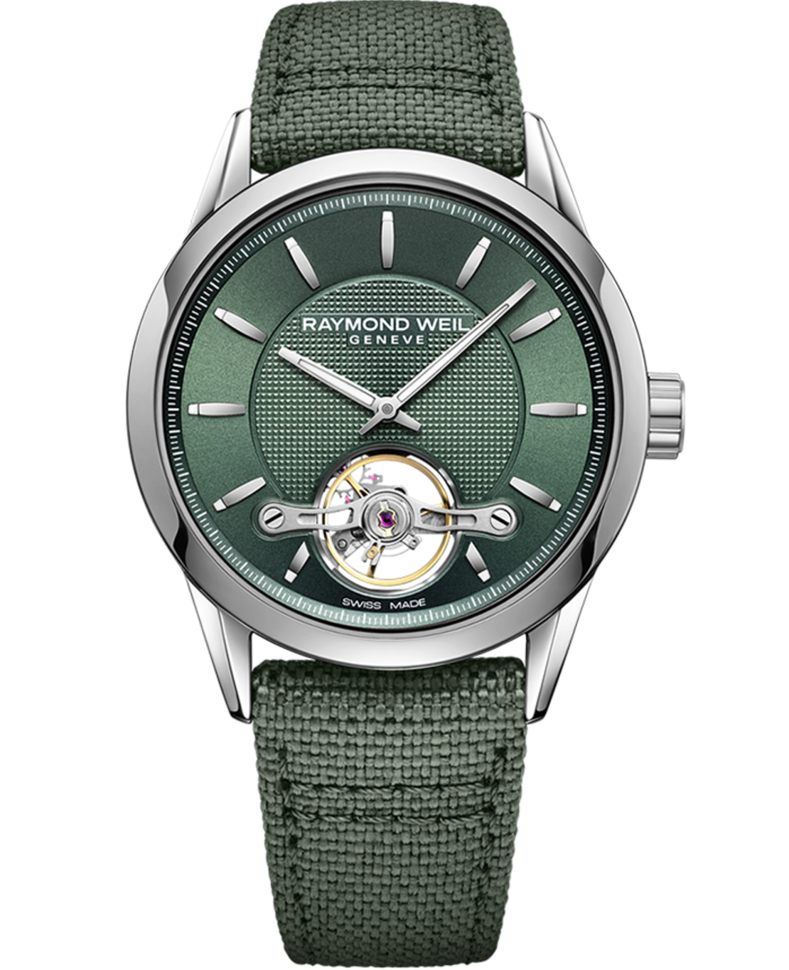 STC-52001 2780- Freelancer Calibre RW1212 Men's Automatic Green