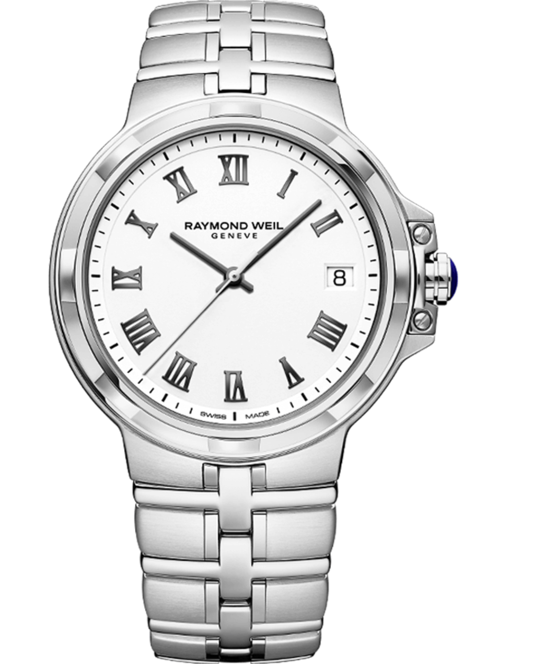 5580-ST-00300 Parsifal Men's Quartz Classic Silver
