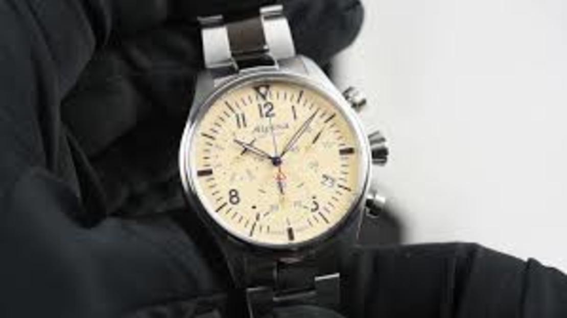 AL-371BG4S6B Startimer Pilot Chronograph