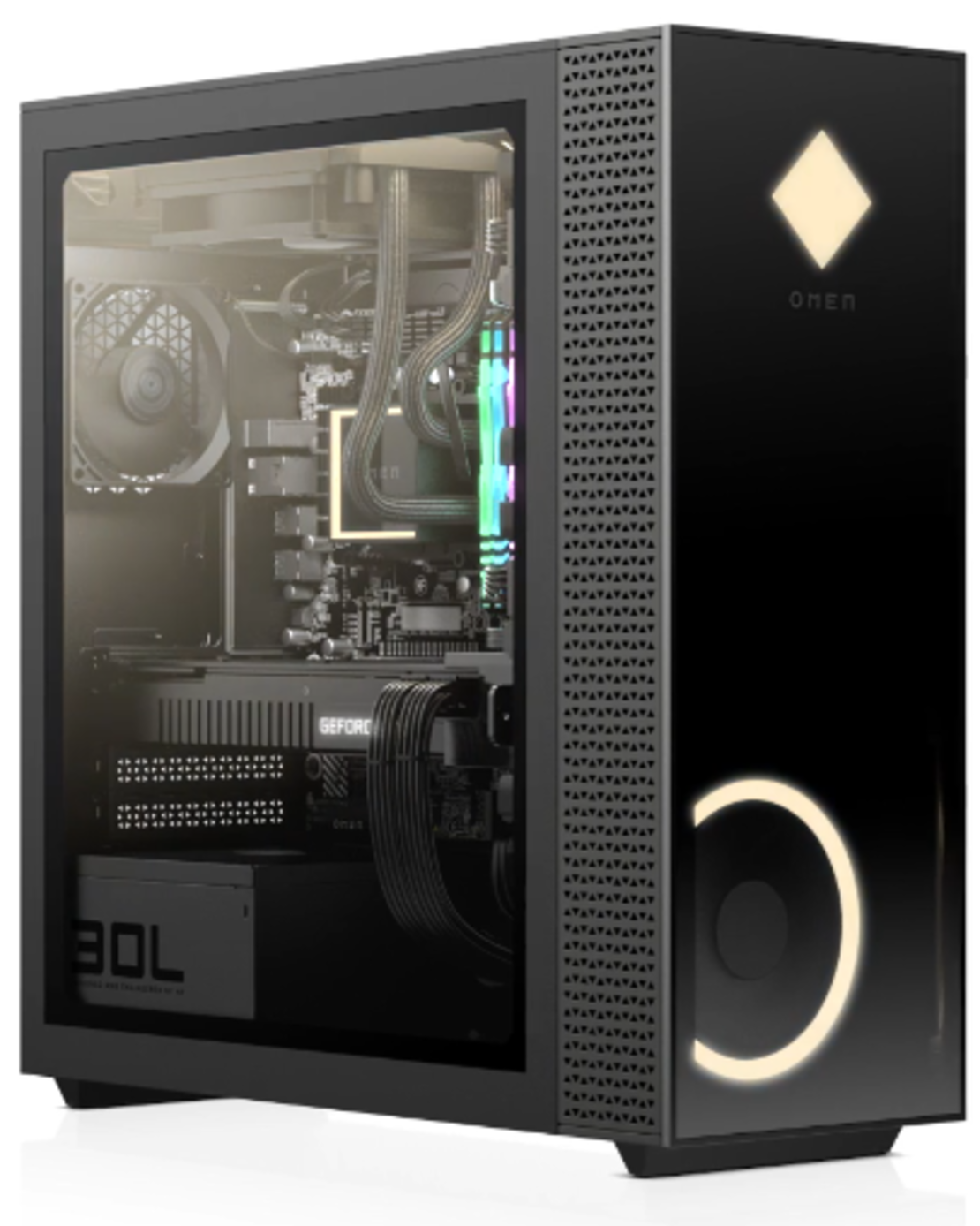 מחשב גיימינג HP OMEN GT13-0006nj/i7-10700K/32GB/1TB SSD NVMe/RTX 3080 10GB