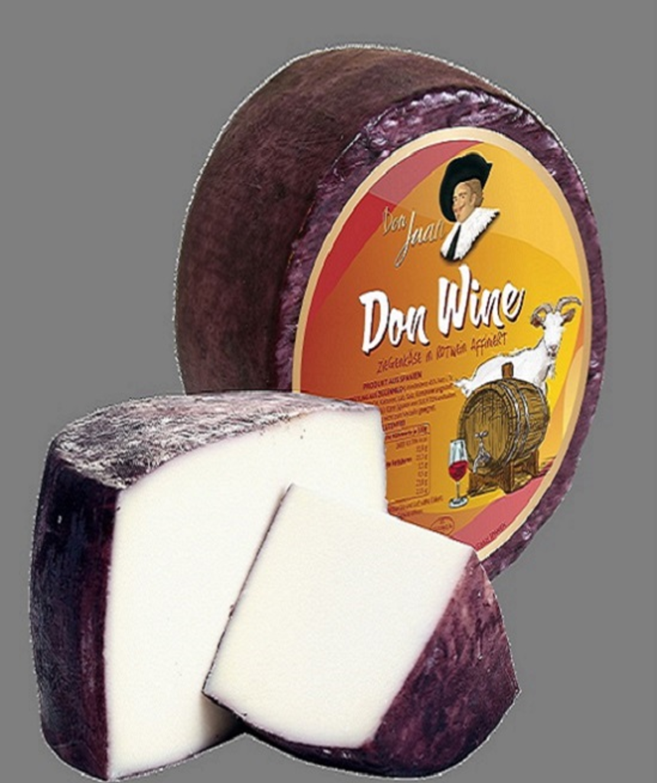 גבינת קברה עזים ביין אדום