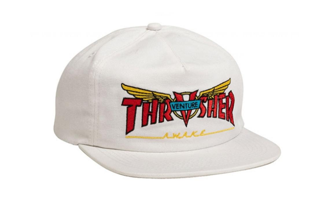 Thrasher - כובע Venture לבן