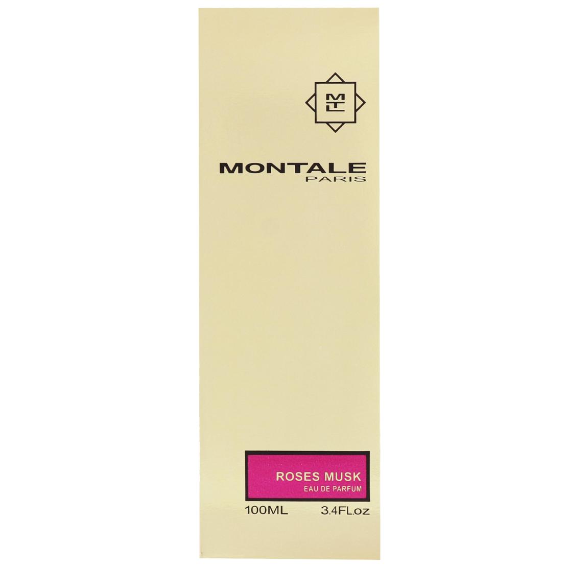 בושם לאשה מונטל רוז מאסק Montale Roses Musk EDP 100 ML