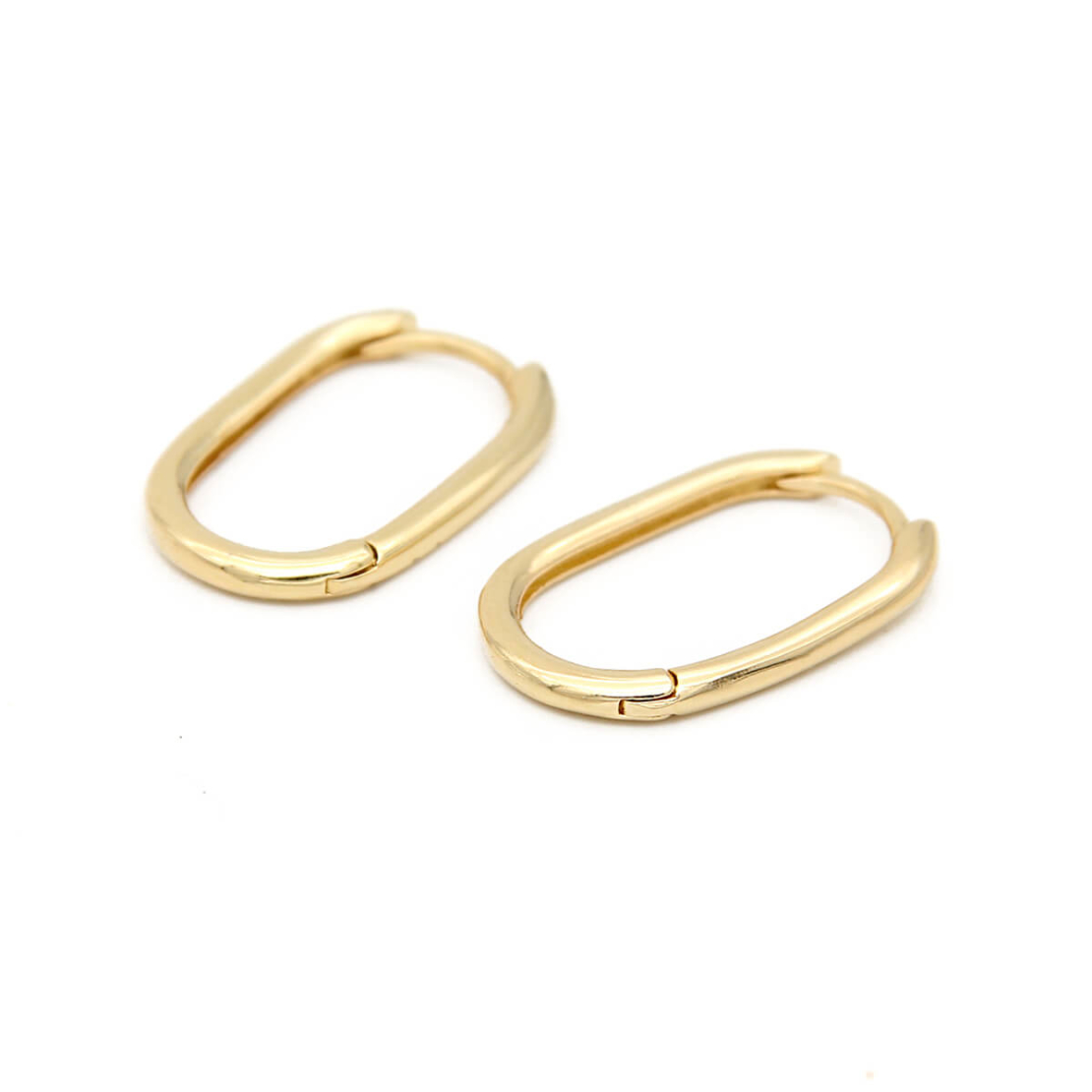סט עגילים - SHELLY - כסף 925 בציפוי זהב מיקרוני