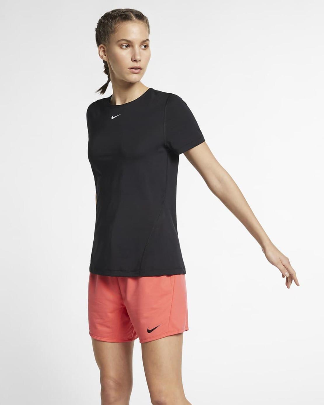 חולצת נייק נשים   Nike Pro Women's Mesh Training Top