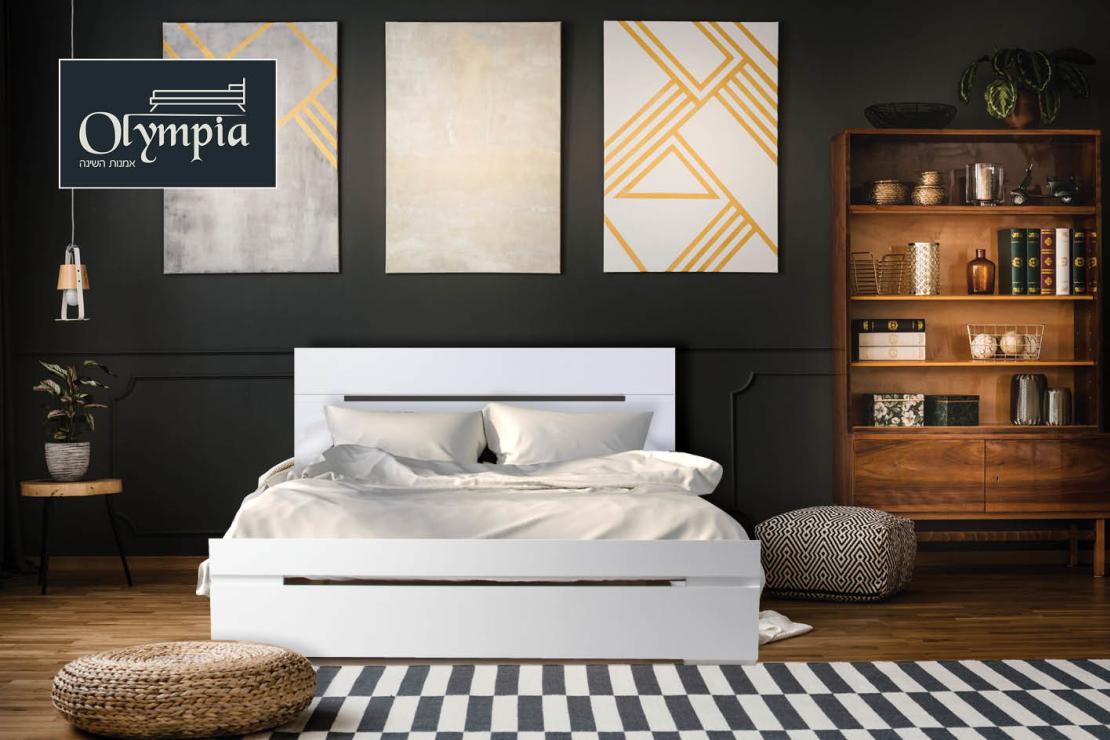 מיטה זוגית דגם 7012