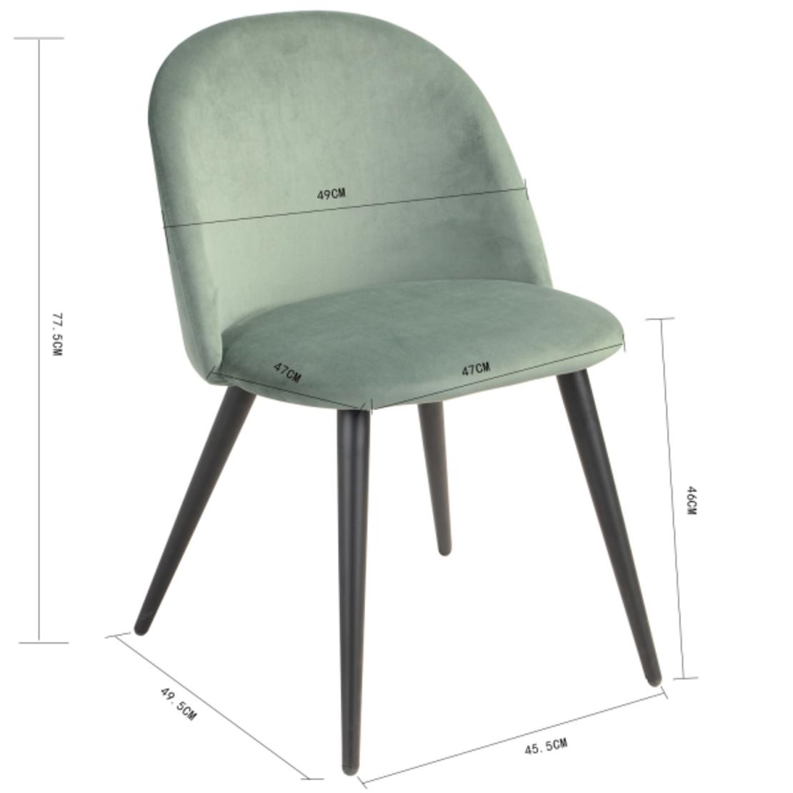 זומבה כיסא קטיפה HOMAX