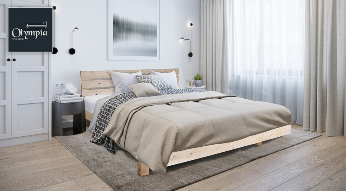 מיטה זוגית דגם 5014