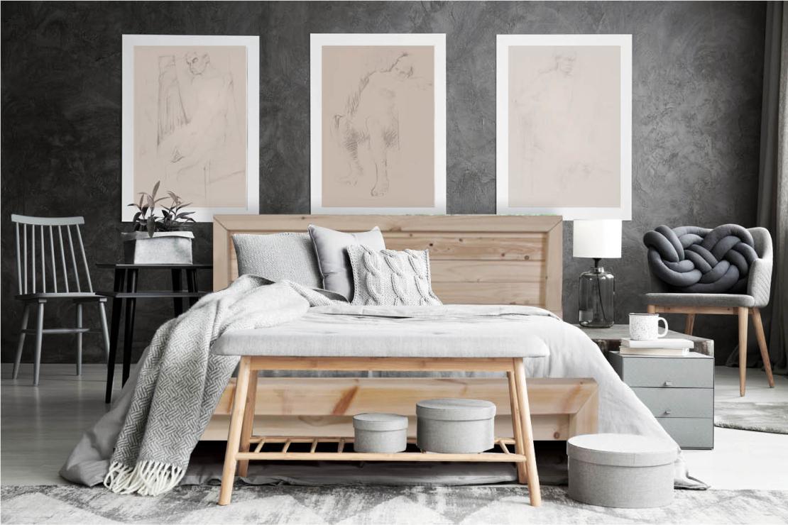 מיטה זוגית דגם 5016