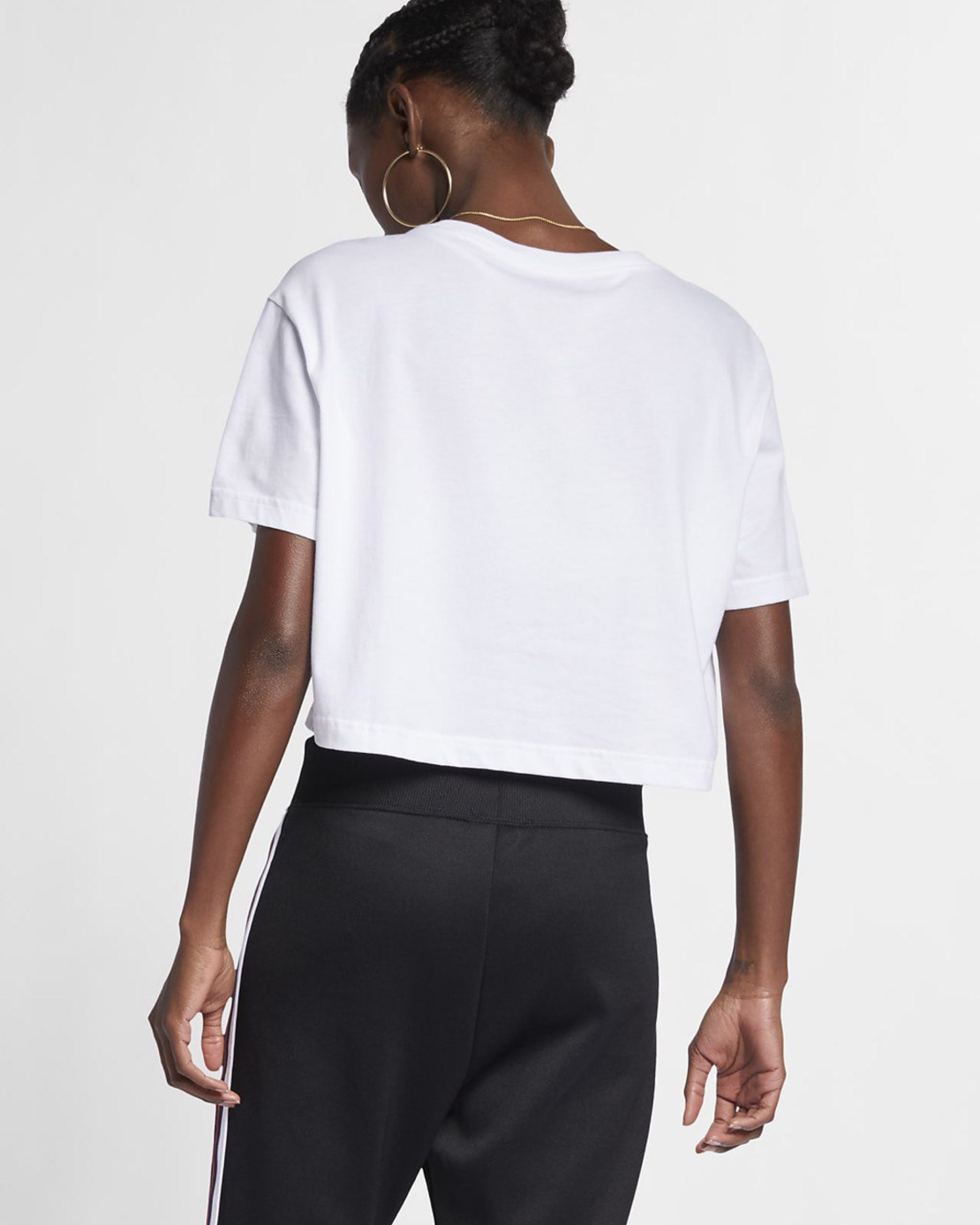 חולצת נייק נשים | Nike Sportswear Essential Women's Cropped T-Shirt