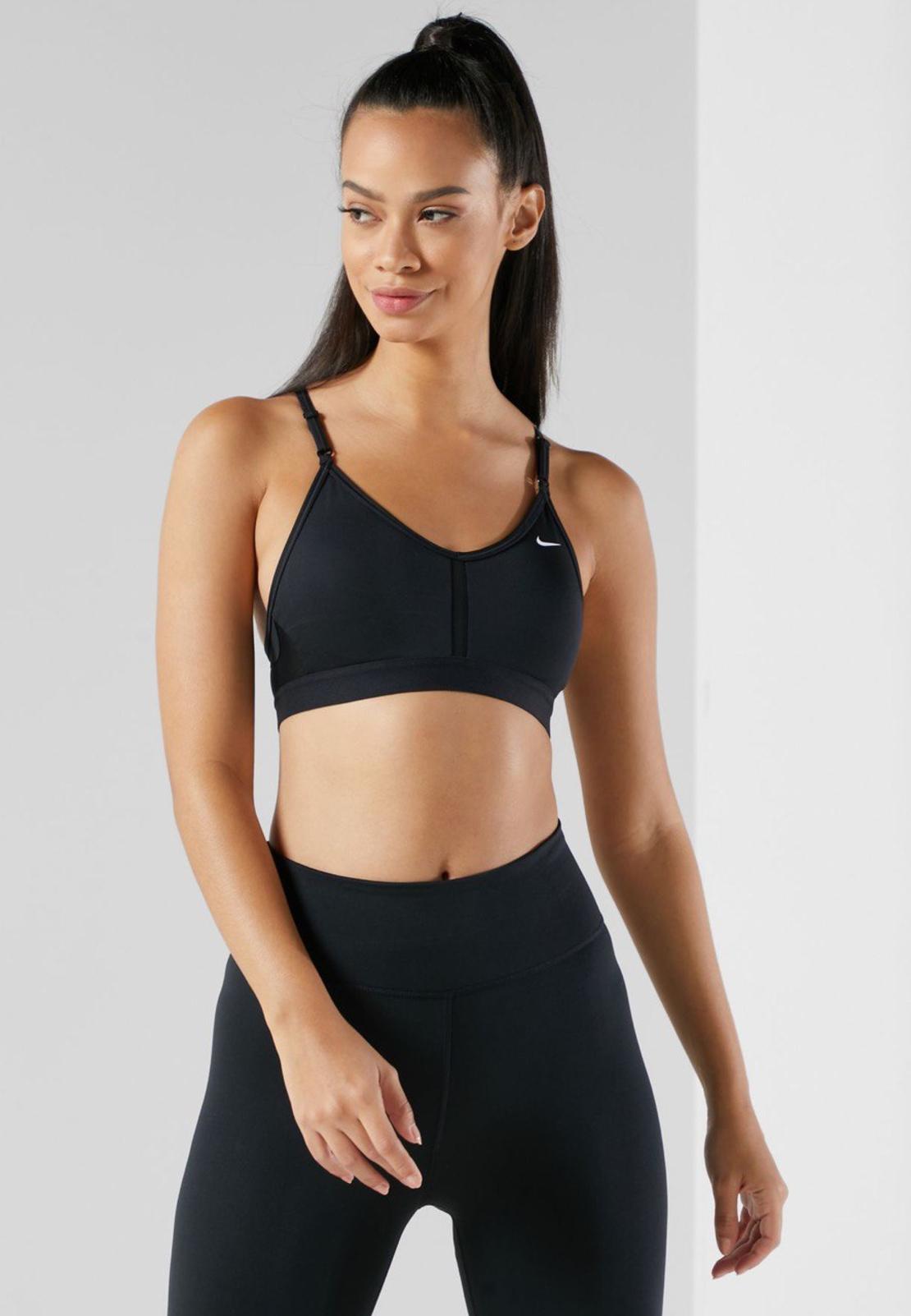 חזיית נייק   Nike Dri-FIT Indy Women's Light-Support Padded V-Neck Sports Bra