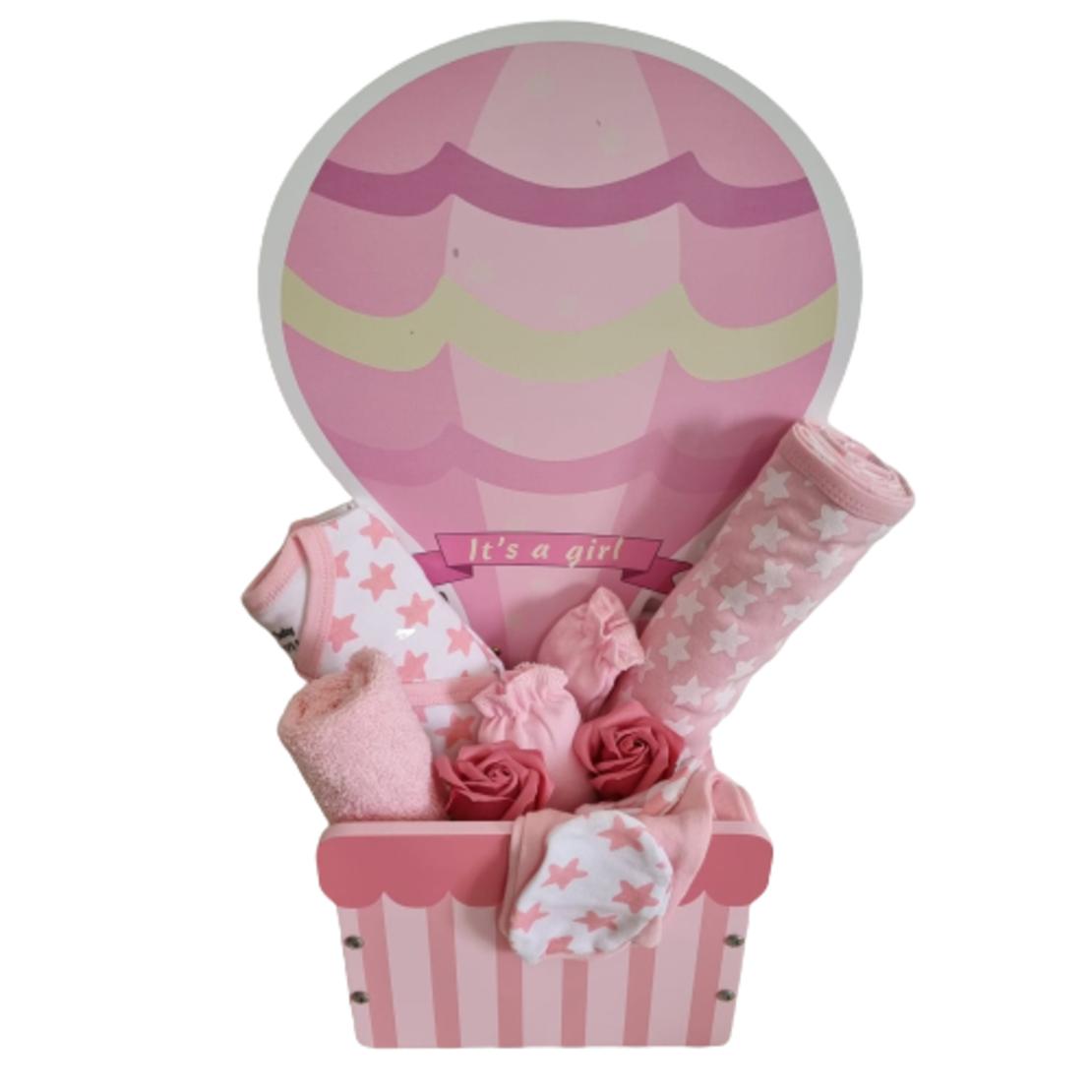 מתנה להולדת הבת - כדור פורח מעץ
