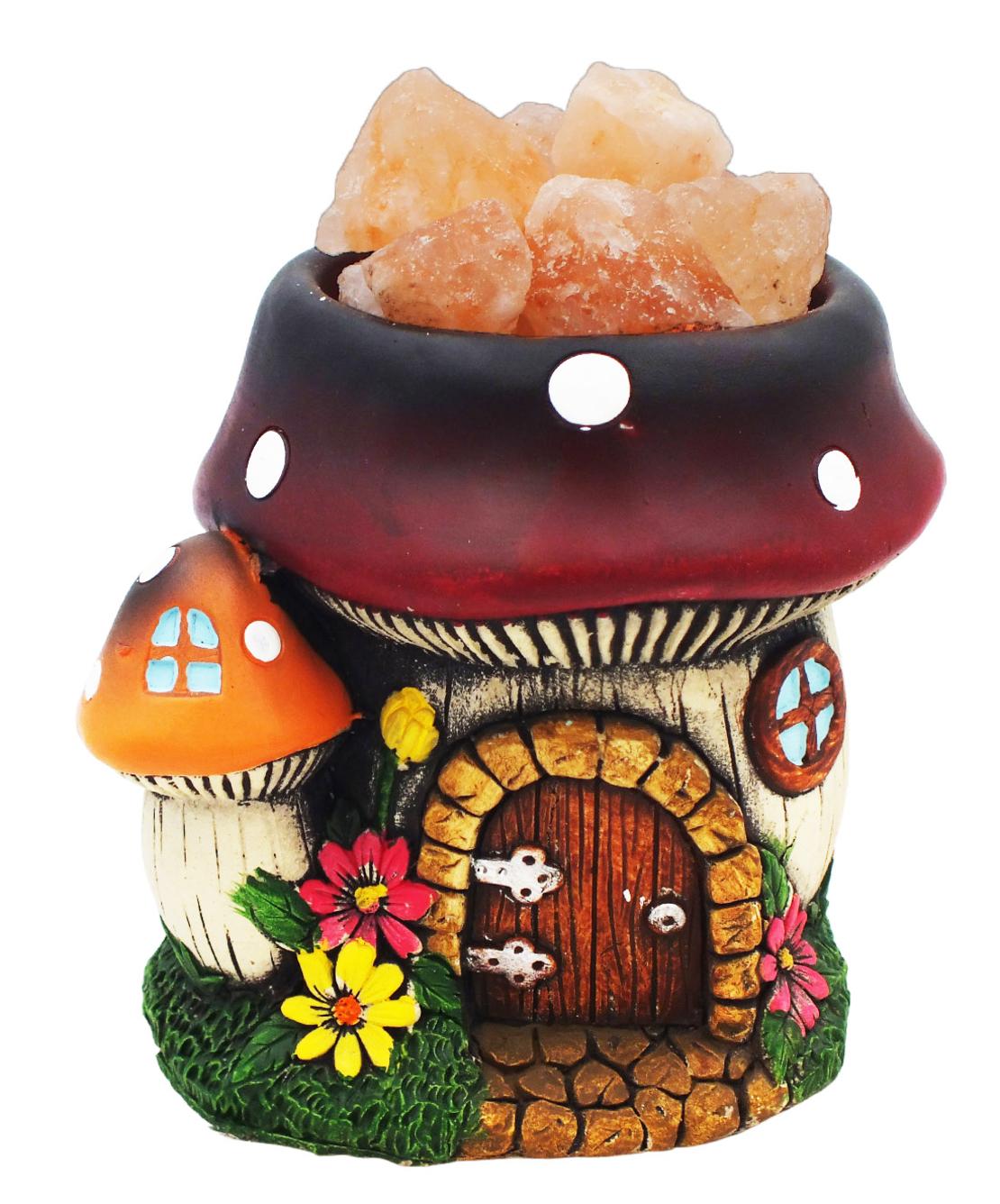 מנורת מלח בבית פטריה מקרמיקה