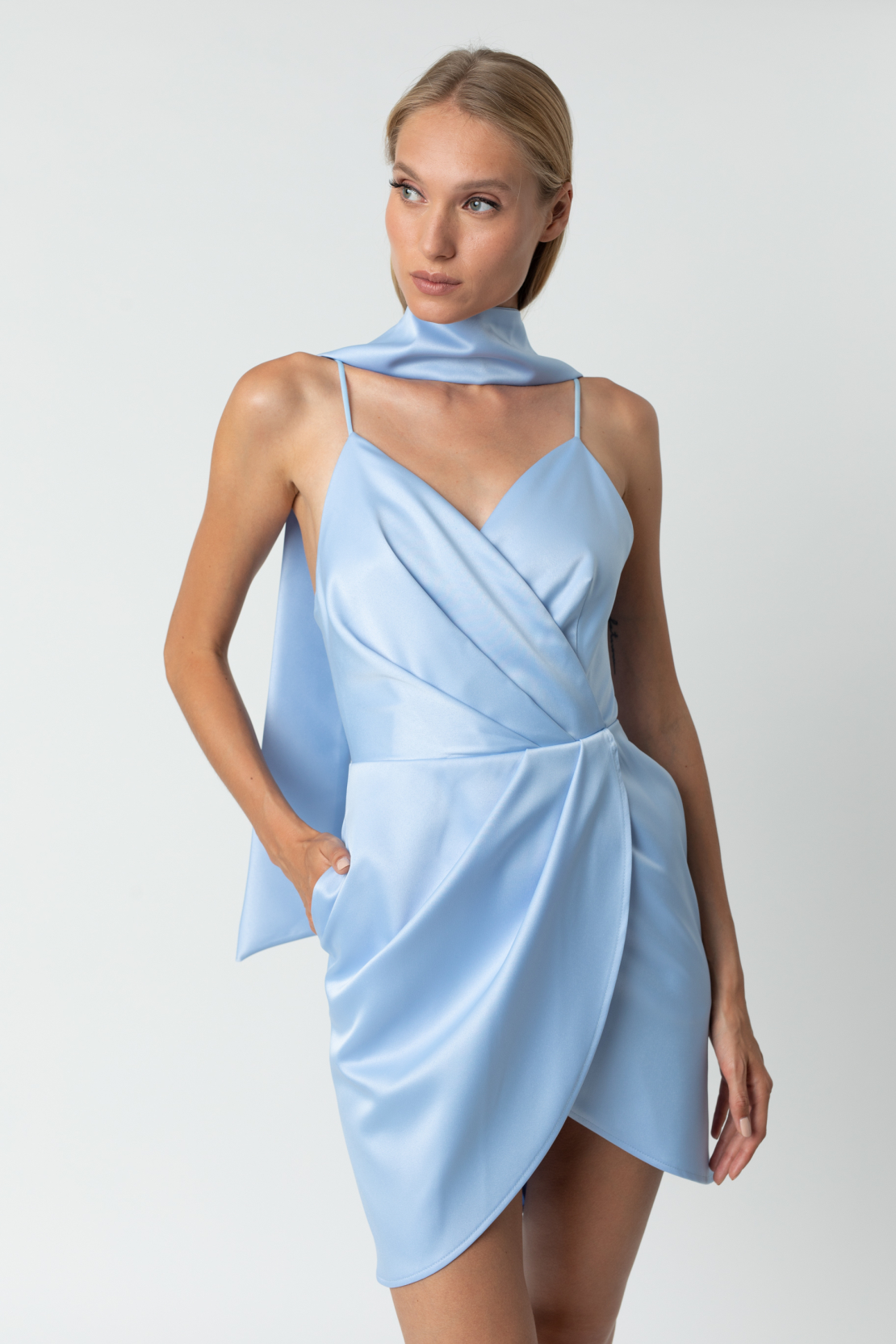 Lori Dress - Blue