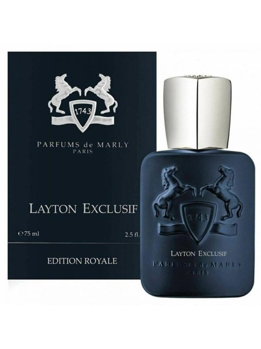 בושם לגבר פרפיום דה מרלי לייטון אקסלוסיב PARFUMS DE MARLY LAYTON EXCLUSIF EDP 75ML