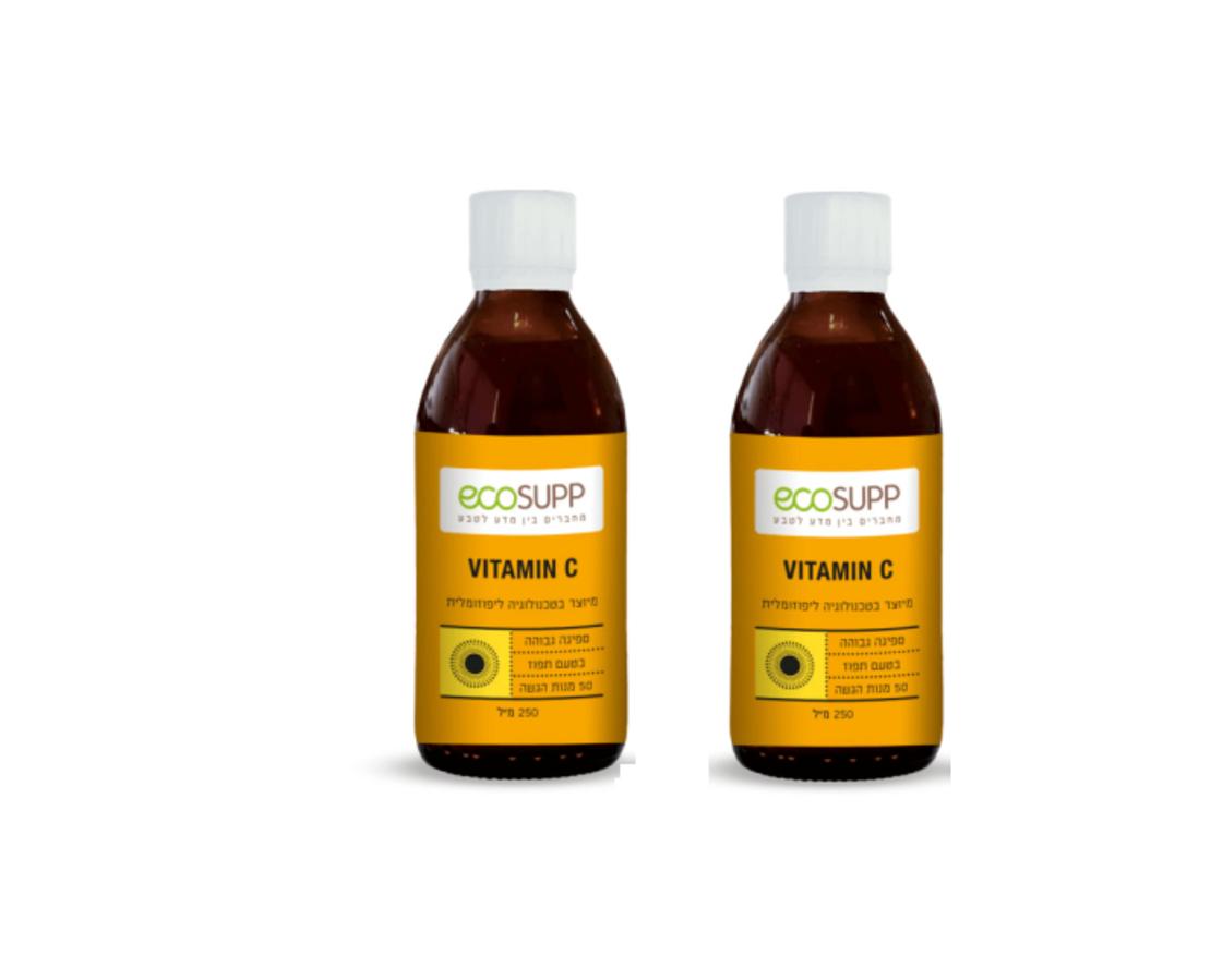 מבצע זוג - ויטמין C ליפוזומלי בספיגה גבוהה Ecosupp