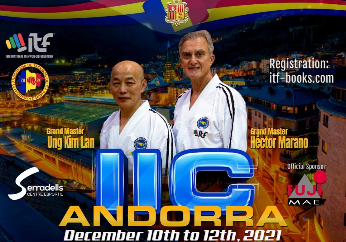 IIC+IKC+IAC ANDORRA - (1-3 Degree) 150 Euros +60 Euros Organization