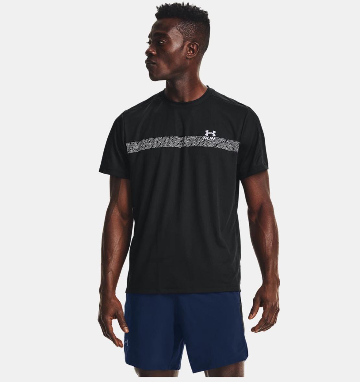 חולצת אנדר ארמור גברים   Under Armour Speed Stride Graphic Short Sleeve