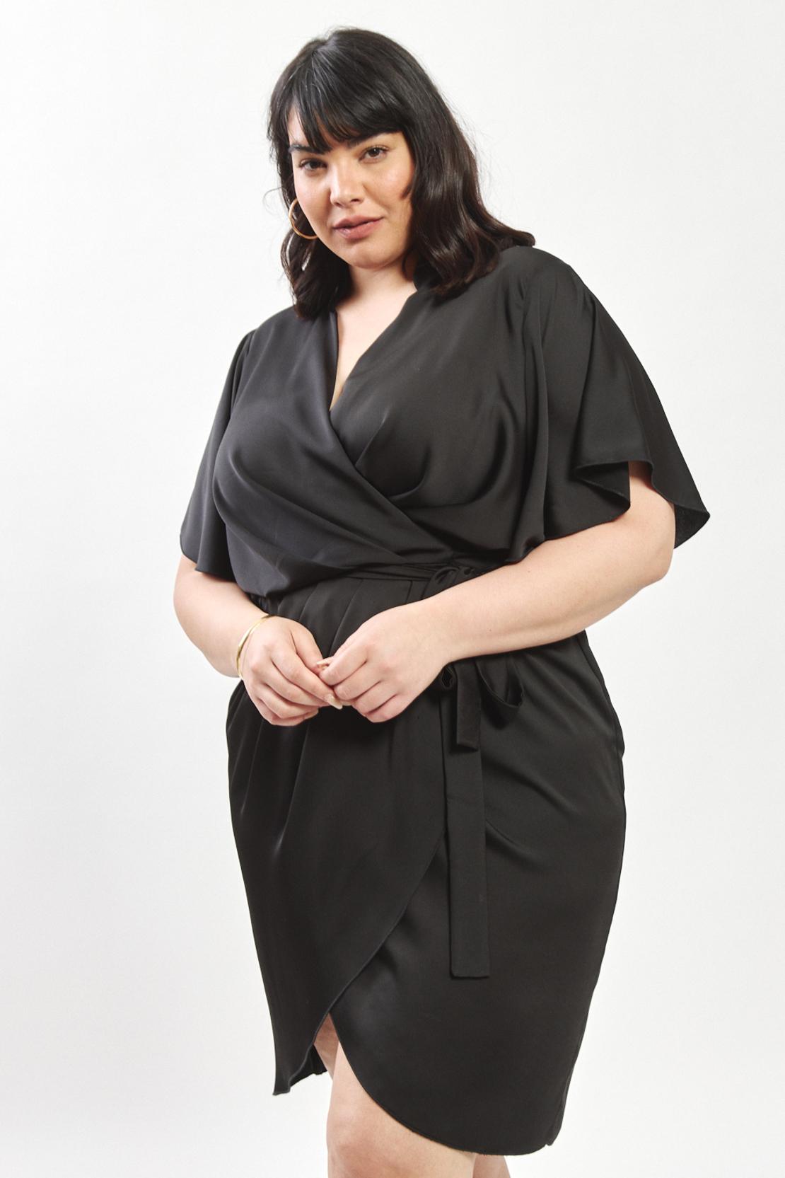 Alma Dress (plus) - black
