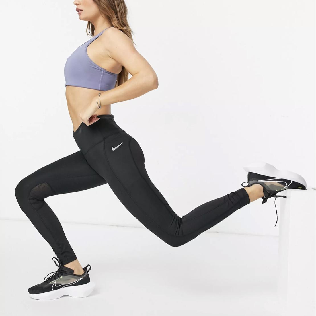 טייץ נייק נשים   Nike Epic Fast Women's Mid-Rise Running Leggings