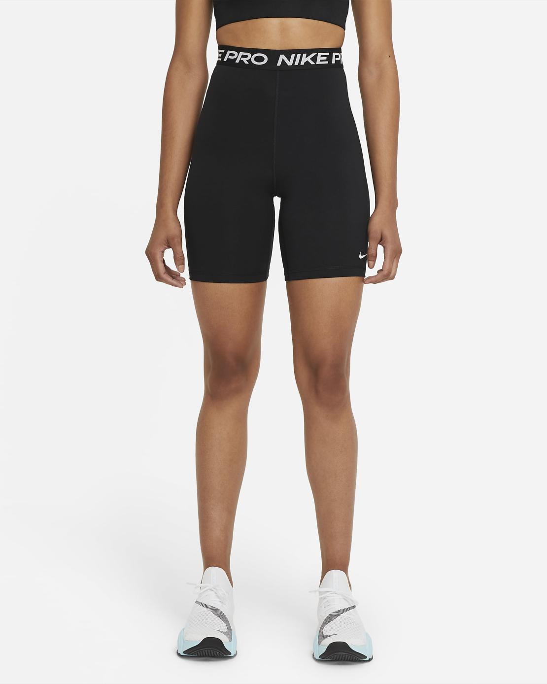 טייץ נייק לנשים   Nike Pro 365 Women's High-Rise 18cm (approx.) Shorts