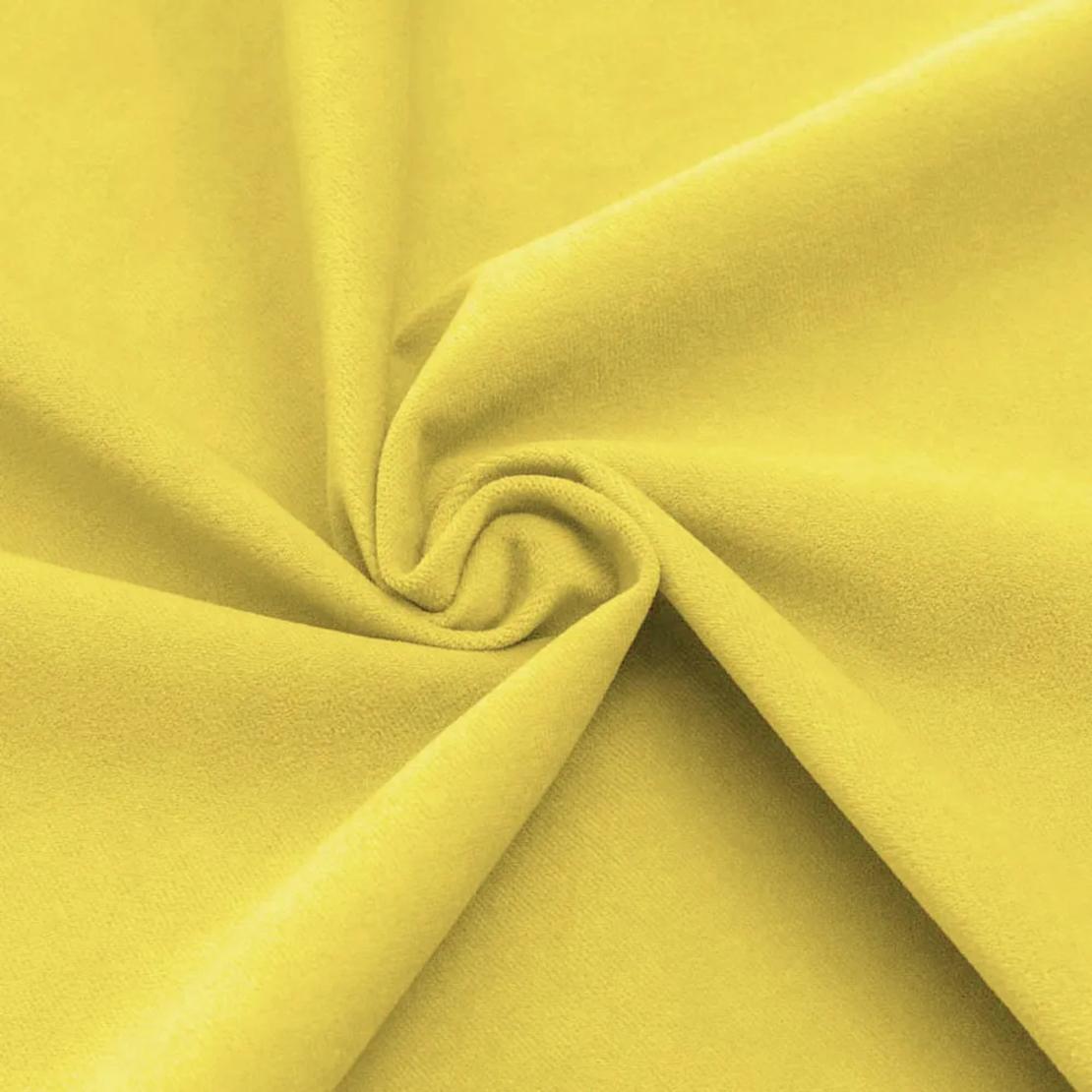 פוף אגס קטיפה | צהוב