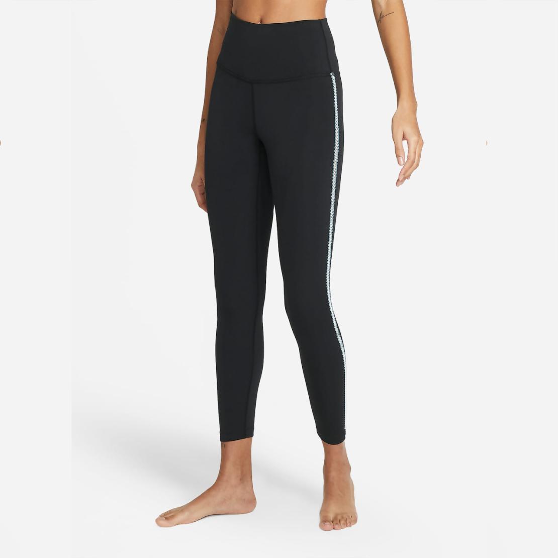 טייץ נייק נשים | Nike Yoga Women's 7/8 Crochet Edge Leggings