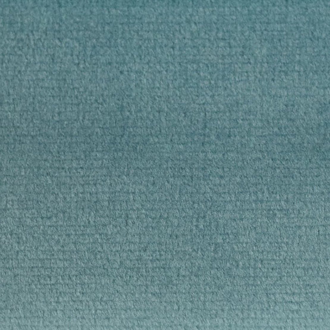 פוף ענן עגול   קטיפה - Aqua
