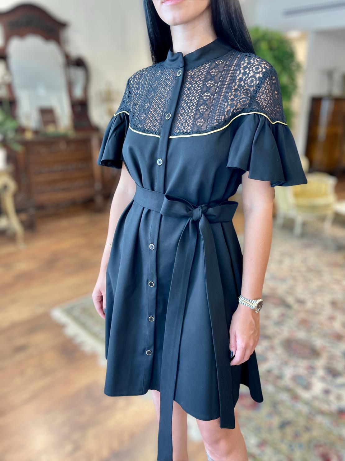 Noya Dress - Black