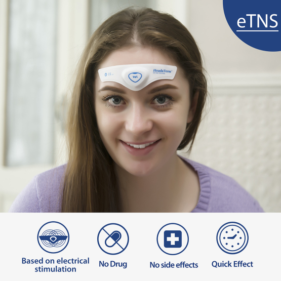 ™HeadaTerm מכשיר לשיכוך כאב ראש ומיגרנה