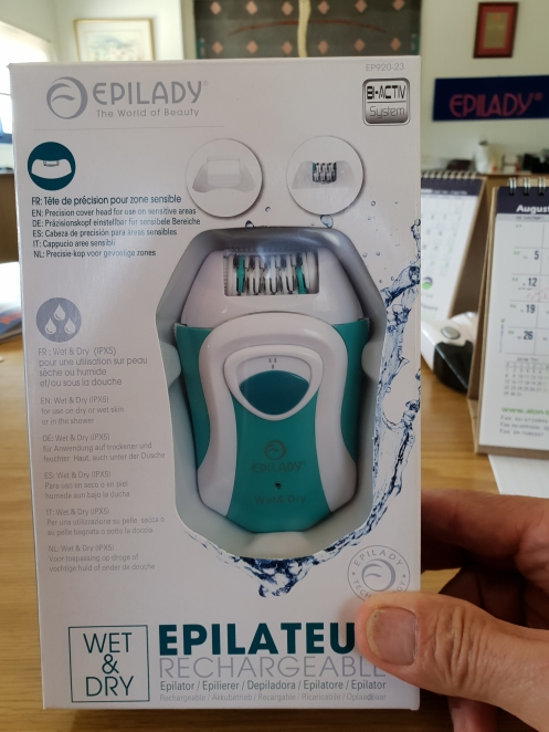 EPILADY RECHARGEABLE