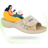 נעלי בית קיץ אורטופדיות לנשים