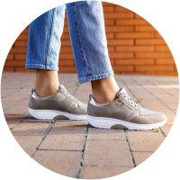 נעלי הליכה רחבות לנשים